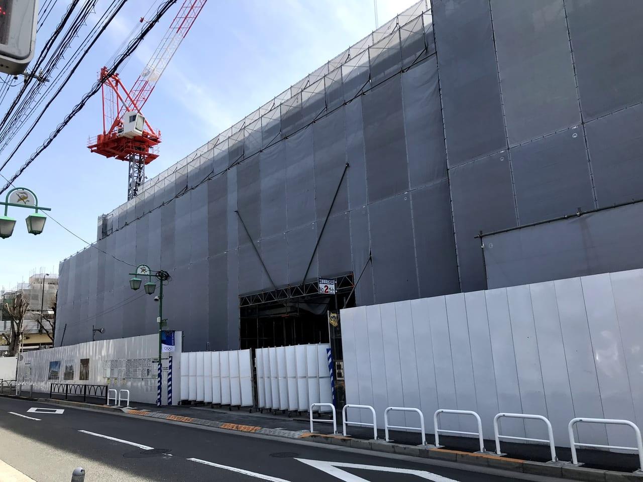 世田谷区等々力の玉川総合支所は2020年7月竣工予定