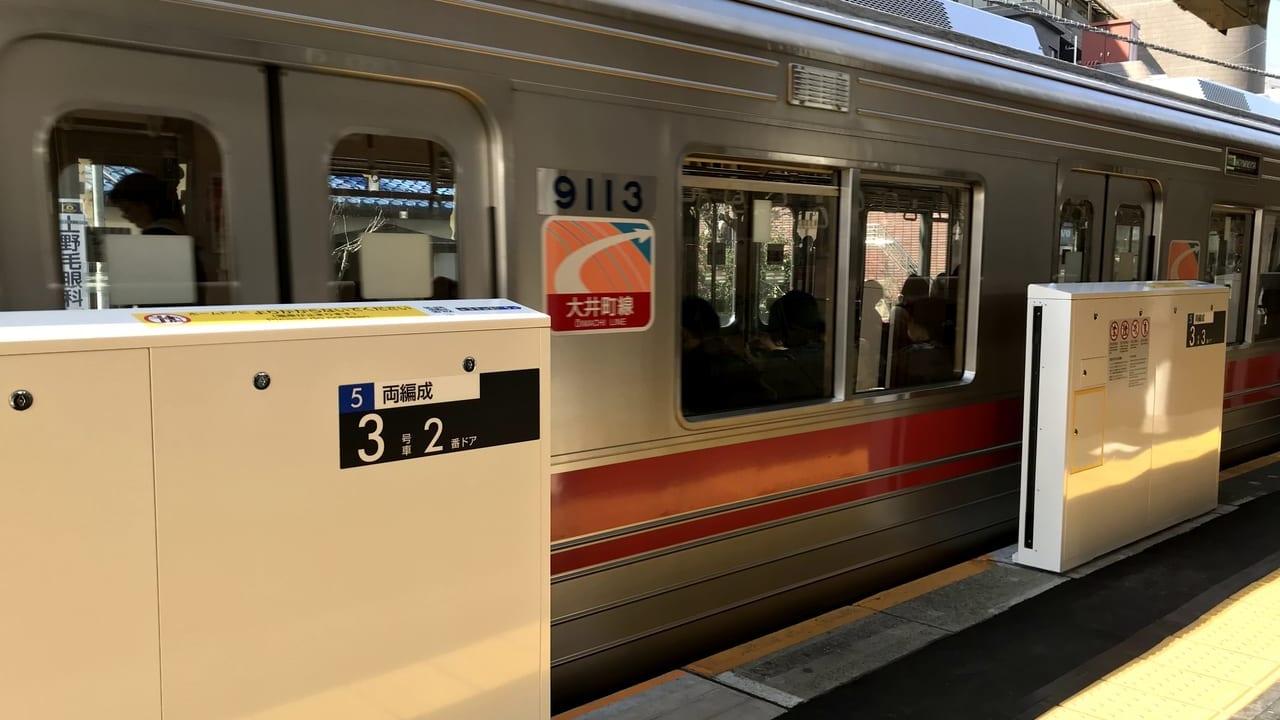 世田谷区等々力駅ホームドア、東急全駅のホームドア設置